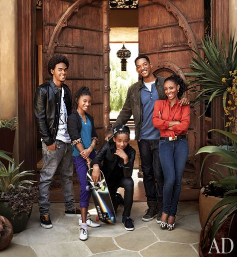 House Retreat For Will & Jada Smith  Adobe-style