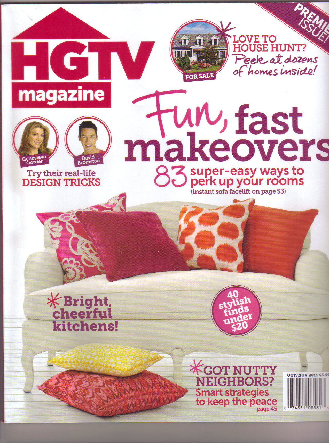 HGTV Magazine Premiere Issue