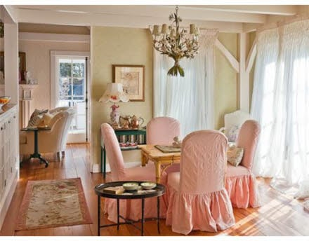 Kristie Alley House - Dining Room