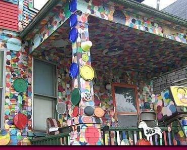 Heidelberg Street Polka Dot House