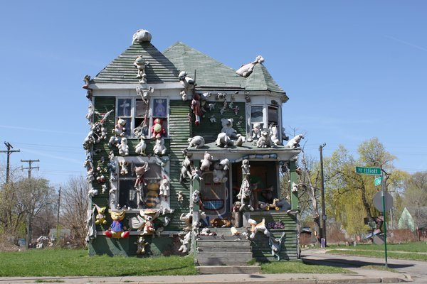 Stuffed Animal House in Detroit