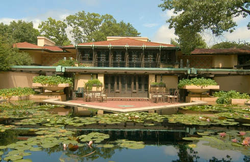 Frank Lloyd Wright house - Avery Coonley House