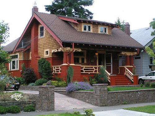 Bungalow o bungalow for Portland craftsman homes