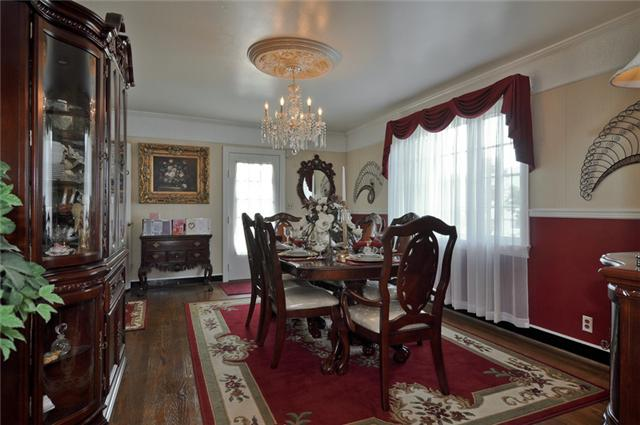 Cottage for sale storybook stone beauty - Dining room living room separation ...