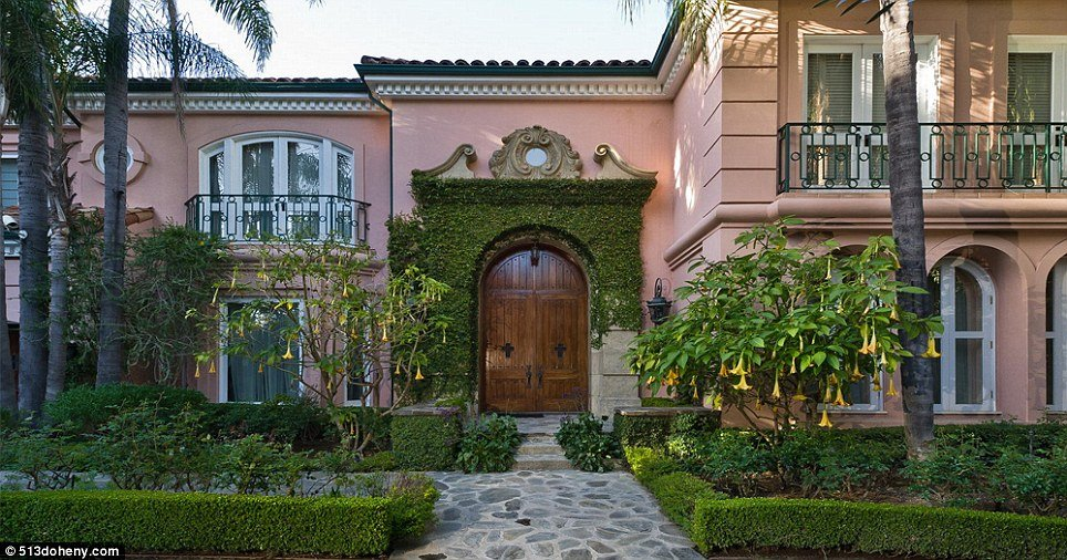 For Sale: Christina Aguilera's Beverly Hills house