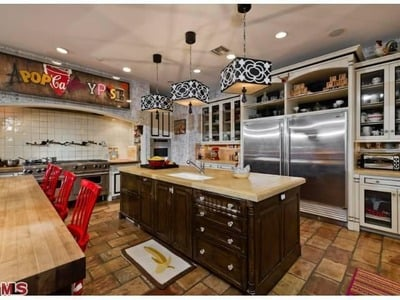 Christina Aguilera's Beverly Hills house