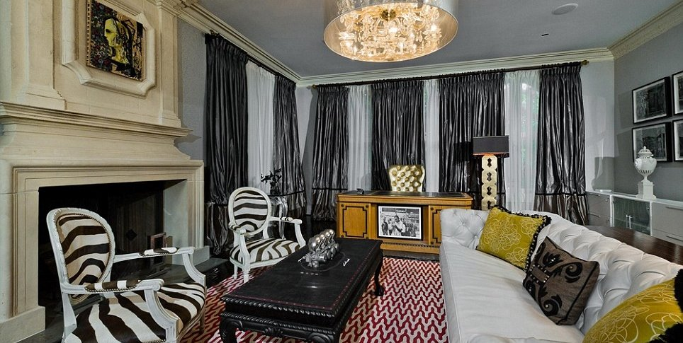 Christina Aguilera Beverly Hills house