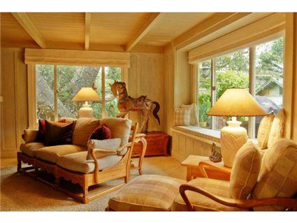 Cottage Inside And Out Pleasing Golden Glow Like The Of Carmel By Sea California
