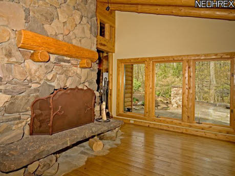 For sale one of a kind log cabin home for One room log cabin for sale