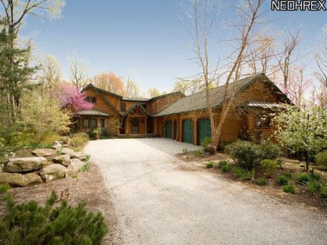 For Sale: One of a Kind Log Cabin Home