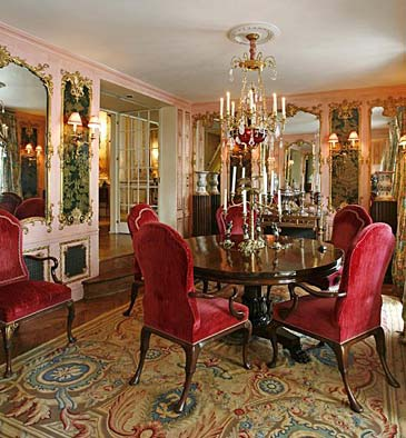 Joan Rivers dining room