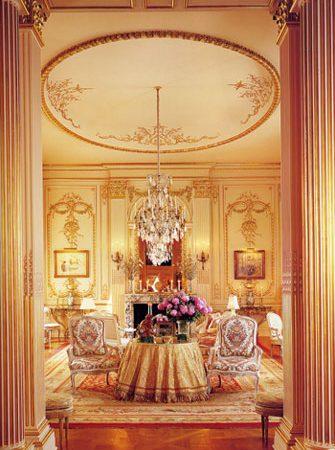 Joan Rivers Penthouse - Living Room