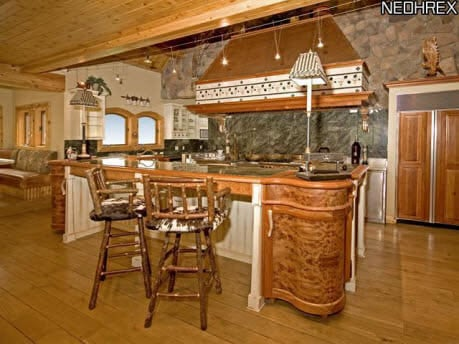 For Sale One Of A Kind Log Cabin Home