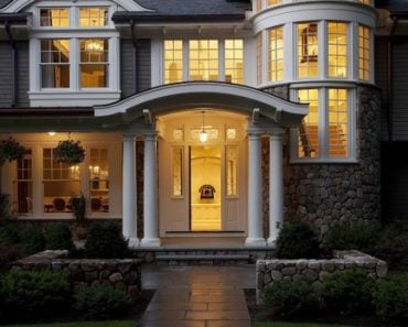 House Style Collection from Pinterest - Stone exterior house