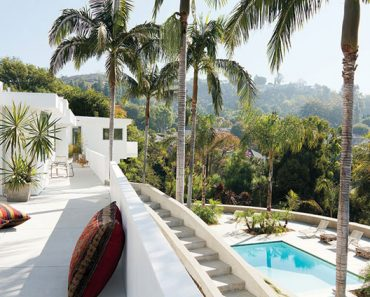 adam levine hollywood home terrace