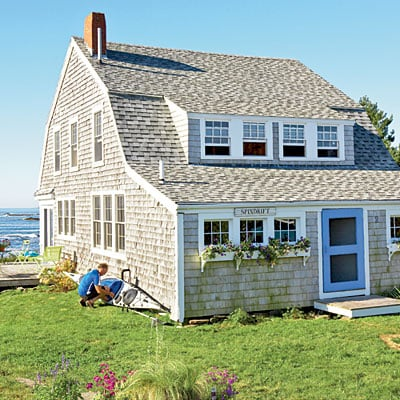 Coastal beach cottages for New england beach house plans