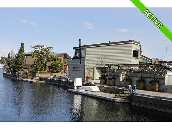For Sale: Houseboats in Seattle