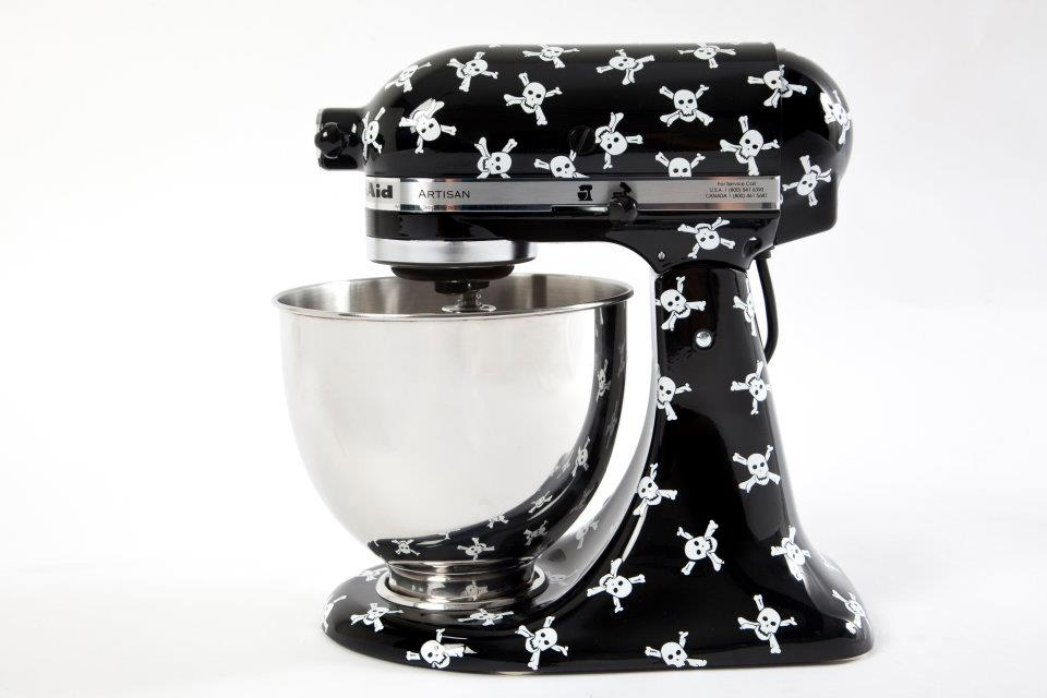 rock and roll stand mixer by KitchenAid