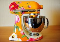 Kitchen Aid custom painted mixer