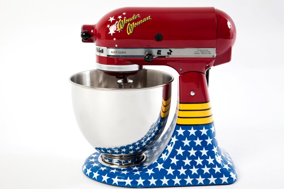 KitchenAid Brazil Wonder Woman stand mixer