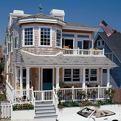 beach cottage in California