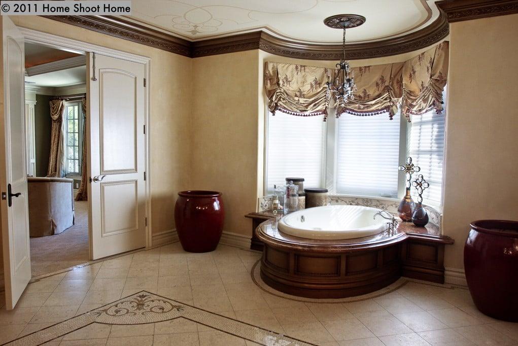 Custom 50 master bathroom in spanish inspiration design for Master bathroom designs 2012