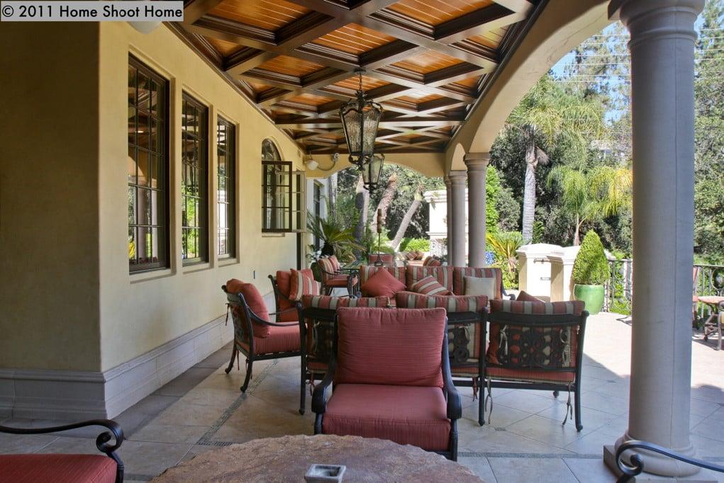 rear patio image