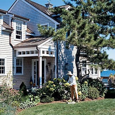 Beach cottage in Rhode Island