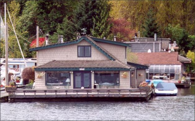 Famous Houseboat Sleepless In Seattle