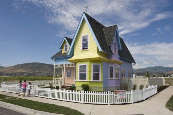 The Real Life UP movie house in Utah