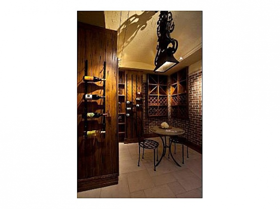 Oprah's Chicago Condo - wine room