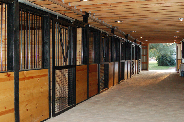 Kentucky farm for sale - arena stalls