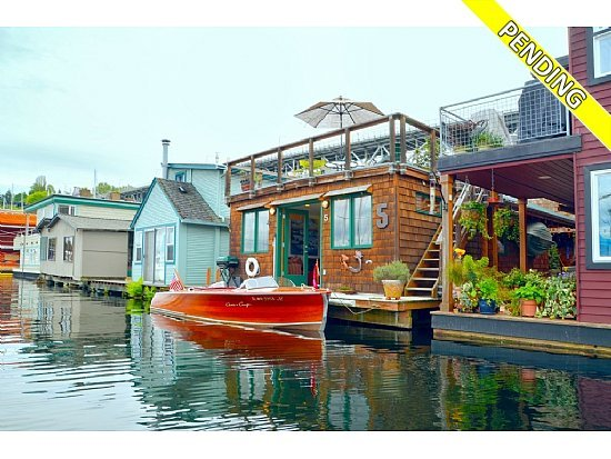 for sale houseboats in seattle. Black Bedroom Furniture Sets. Home Design Ideas