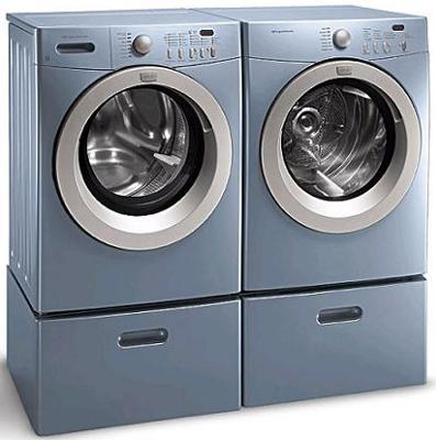 frigidaire glacial blue washer and dryer