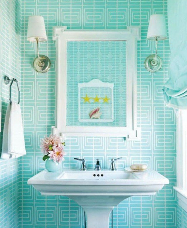 Red As The Color Of Your Bathroom Interior Design Ideas