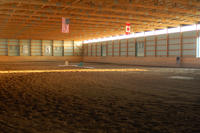 Kentucky farm indoor area
