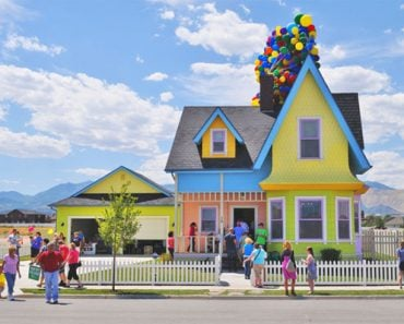 Real Up house in Utah