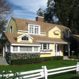 Susan's and Mike's House on Wisteria Lane on the Universal Studio Tour