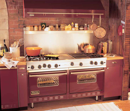 Viking burgundy range