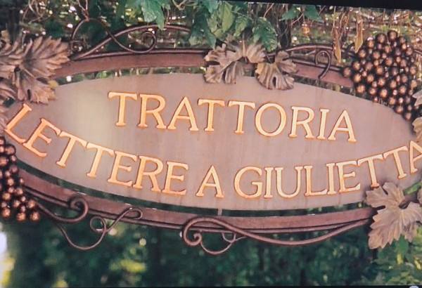 sign in movie Letters To Juliet