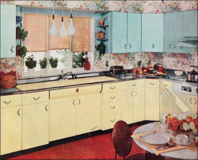 1950 retro kitchen