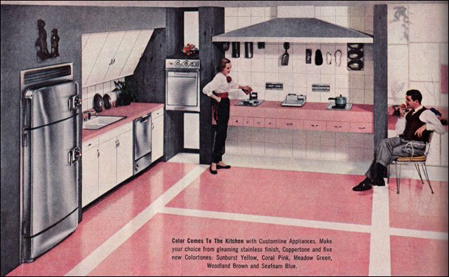 1956 retro kitchen