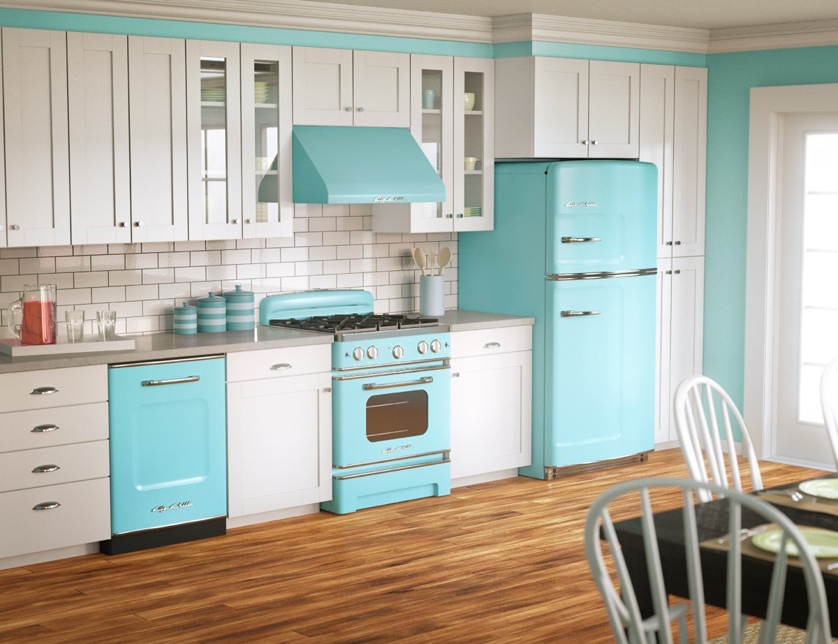 Chill Is The Best For Retro Kitchens