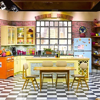 Rachel Ray TV show retro style kitchen