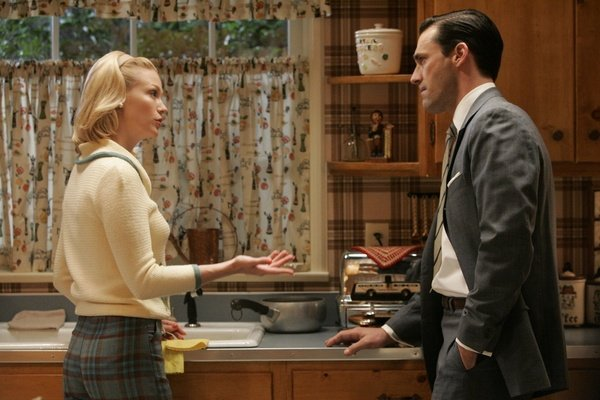 Mad Men TV show retro kitchen