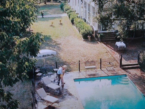 The Foote pool from The Help movie scene- The Celia Foote house pool with Celia and Johnnie