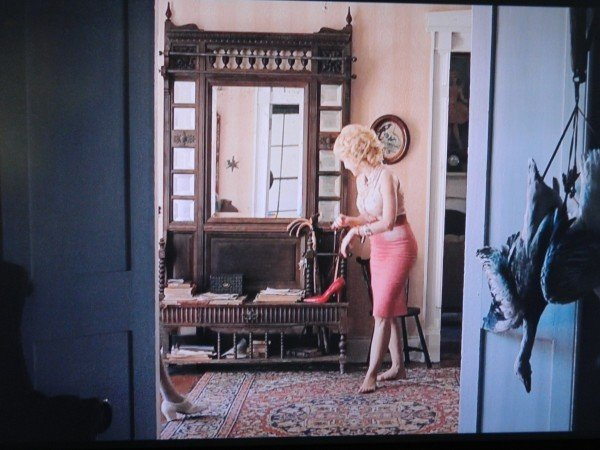 Inside Celia Foot's house on The Help - antique furniture