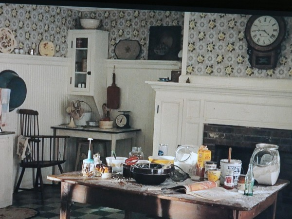 Celia Foote's kitchen The Help movie scene. The kitchen details were painstakingly constructed by The Help movie production.