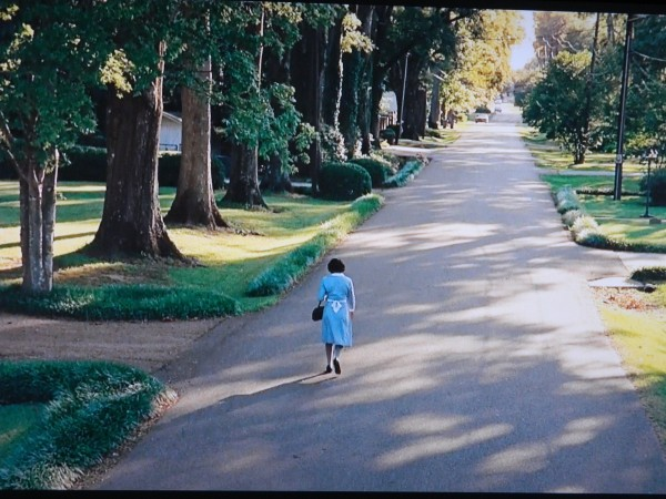"Scene at end of the movie The Help - Poplar Street -""Nobody ever ask what it felt like to be me."" My boy always say there gonna be a writer in the family. I guess it gonna be me."""