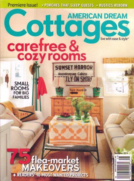 new cottage home magazine on the block blogher rh blogher com  cottage home decor magazine